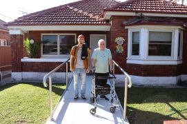 John and Support Worker
